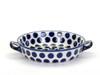 Oven Dish with Handles (large) (Polka Dot)