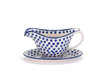 Gravy Boat with Saucer (Small Blue Dot)