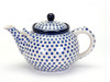 Teapot (1.8 Litres) (Small Blue Dot)