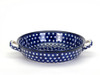 Oven Dish with Handles (large) (Blue Eyes)