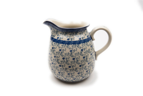 Jug with Lip (1 Litre) (Forget Me Not)