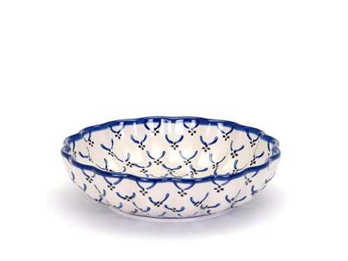 Frilled Dish (large) (Trellis)