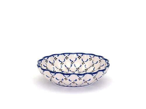 Frilled Dish (medium) (Trellis)