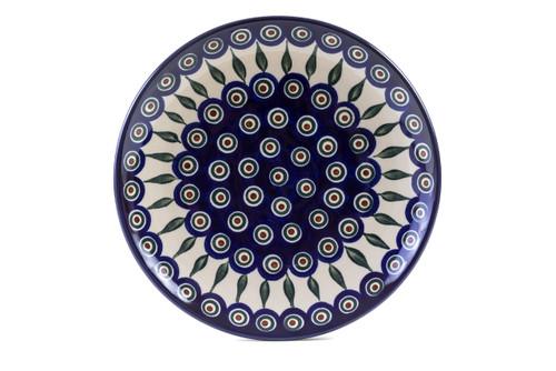 Dinner Plate (25 cm) (Peacock Eyes)