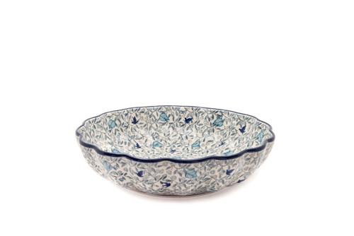 Frilled Dish (large) (Skylark)