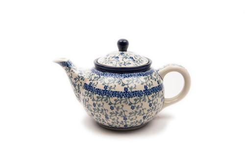 Teapot (0.9 Litre) (Forget Me Not)
