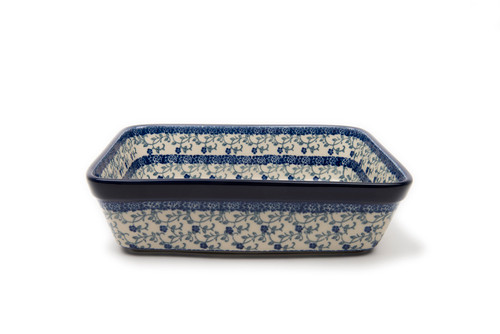 Deep Lasagne Dish (small) (Forget Me Not)
