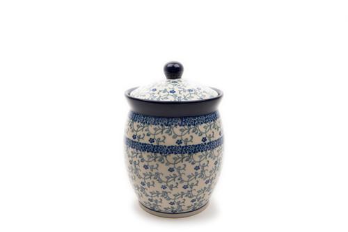 Storage Jar (large) (Forget Me Not)