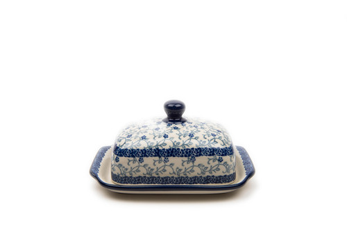Butter Dish (Forget Me Not)