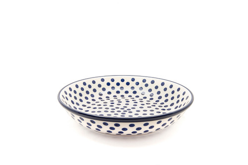 Pasta Bowl (large) (Small Blue Dot)