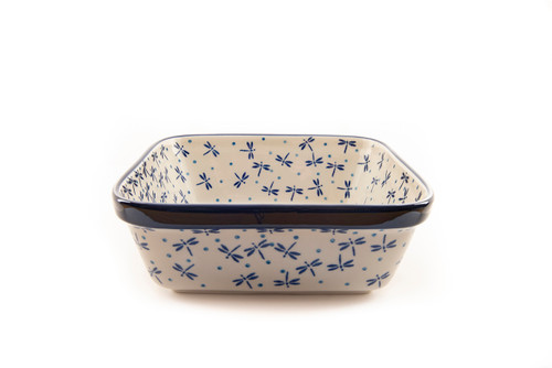 Square Baking Dish (Dragonfly)