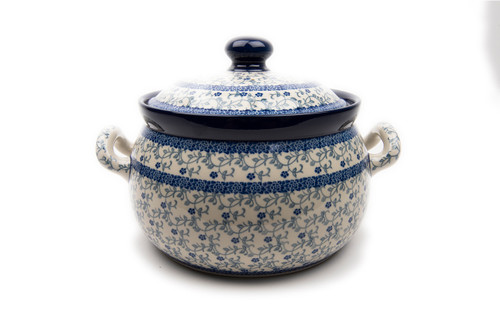 Casserole Dish (large) (Forget Me Not)