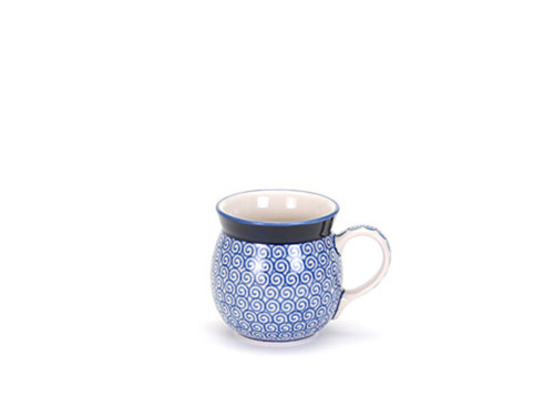 Ladies Mug (Blue Doodle)