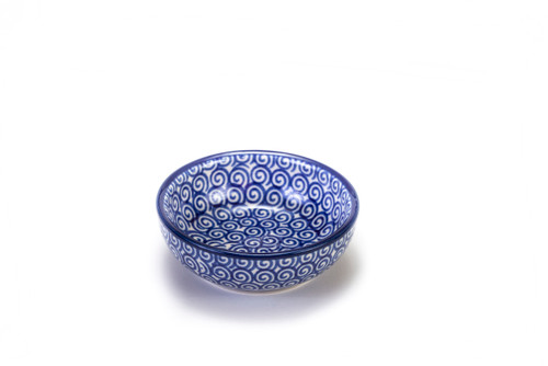 Dipping Dish (Blue Doodle)