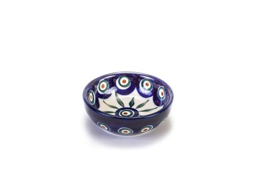 Dipping Dish (Peacock Eyes)
