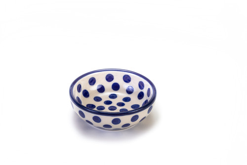 Dipping Dish (Small Blue Dot)