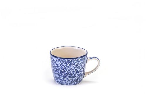 Espresso Mug (Blue Doodle)