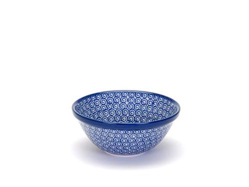 Cereal Bowl (medium) (Blue Doodle)