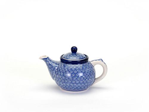 Teapot (0.4 Litre) (Blue Doodle)