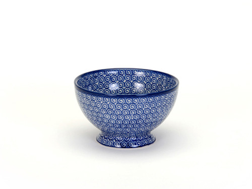 French Bowl (Blue Doodle)