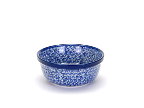 Cereal / Pasta Bowl (large) (Blue Doodle)