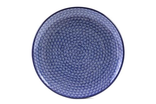 Dinner Plate (27 cm) (Blue Doodle)