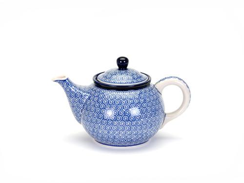 Teapot (0.9 Litre) (Blue Doodle)