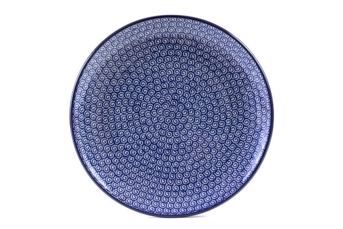 Dinner Plate (24 cm) (Blue Doodle)