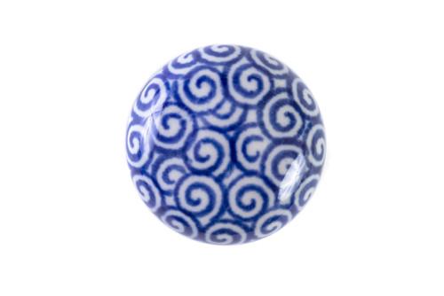 Door Knob (Blue Doodle)
