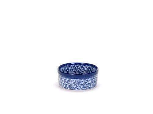 Ramekin (Blue Doodle)