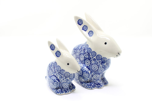 Pair of Rabbits (Blue Lace)