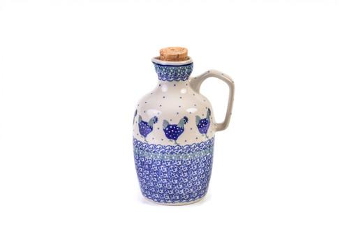 Oil Bottle (Blue Hen)