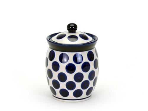 Storage Jar (large) (Polka Dot)