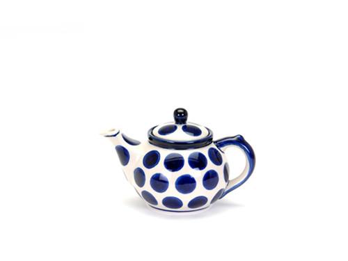 Teapot (0.4 Litre) (Polka Dot)