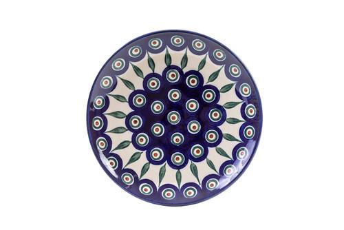 Breakfast Plate (20 cm) (Peacock Eyes)