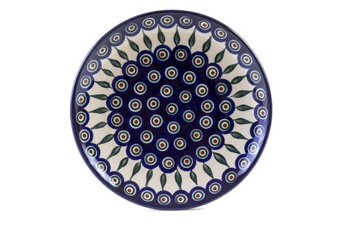 Dinner Plate (27 cm) (Peacock Eyes)