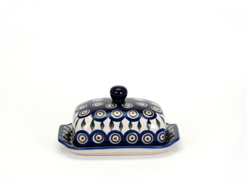 Butter Dish (Peacock Eyes)