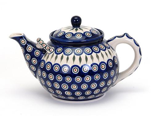 Teapot (3 Litres) (Peacock Eyes)