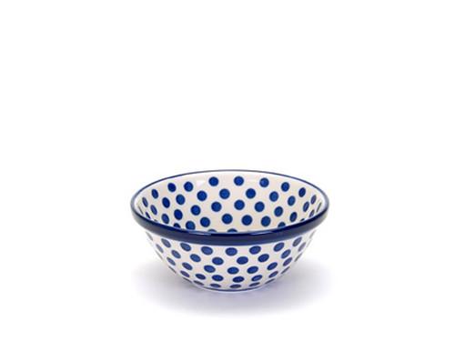 Cereal Bowl (medium) (Small Blue Dot)