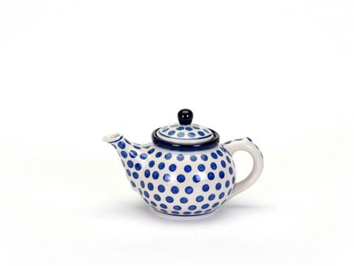 Teapot (0.4 Litre) (Small Blue Dot)