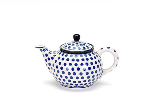 Teapot (0.9 Litre) (Small Blue Dot)