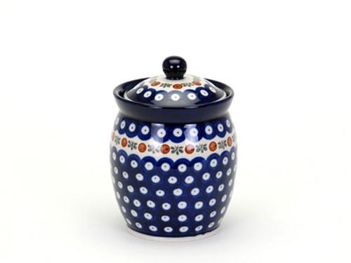 Storage Jar (large) (Flower Tendril)
