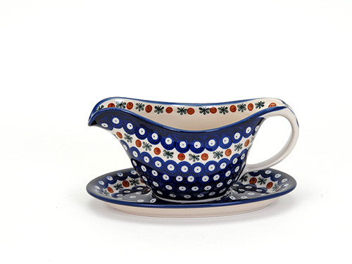 Gravy Boat with Saucer (Flower Tendril)