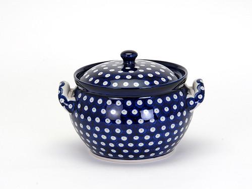 Casserole Dish (small) (Blue Eyes)