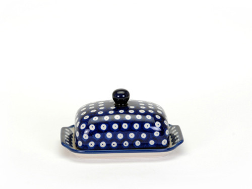 Butter Dish (Blue Eyes)