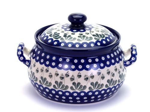 Casserole Dish (large) (Love Leaf)