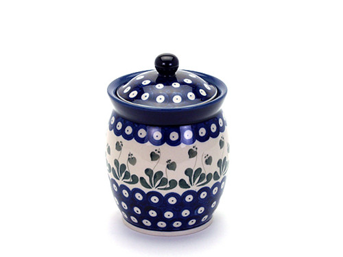 Storage Jar (large) (Love Leaf)