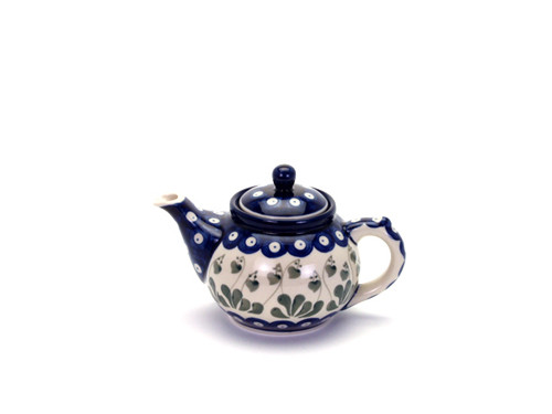Teapot (0.4 Litre) (Love Leaf)