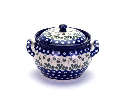 Casserole Dish (small) (Love Leaf)