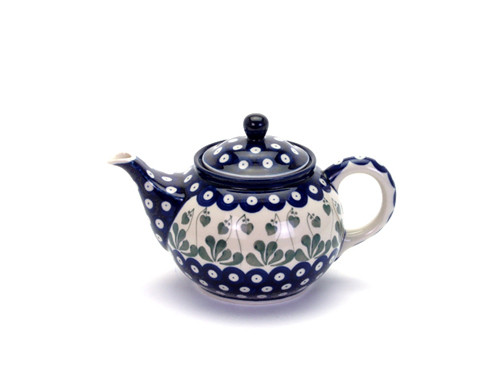Teapot (0.9 Litre) (Love Leaf)